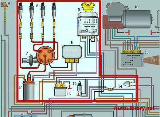 12 – электродвигатель насоса