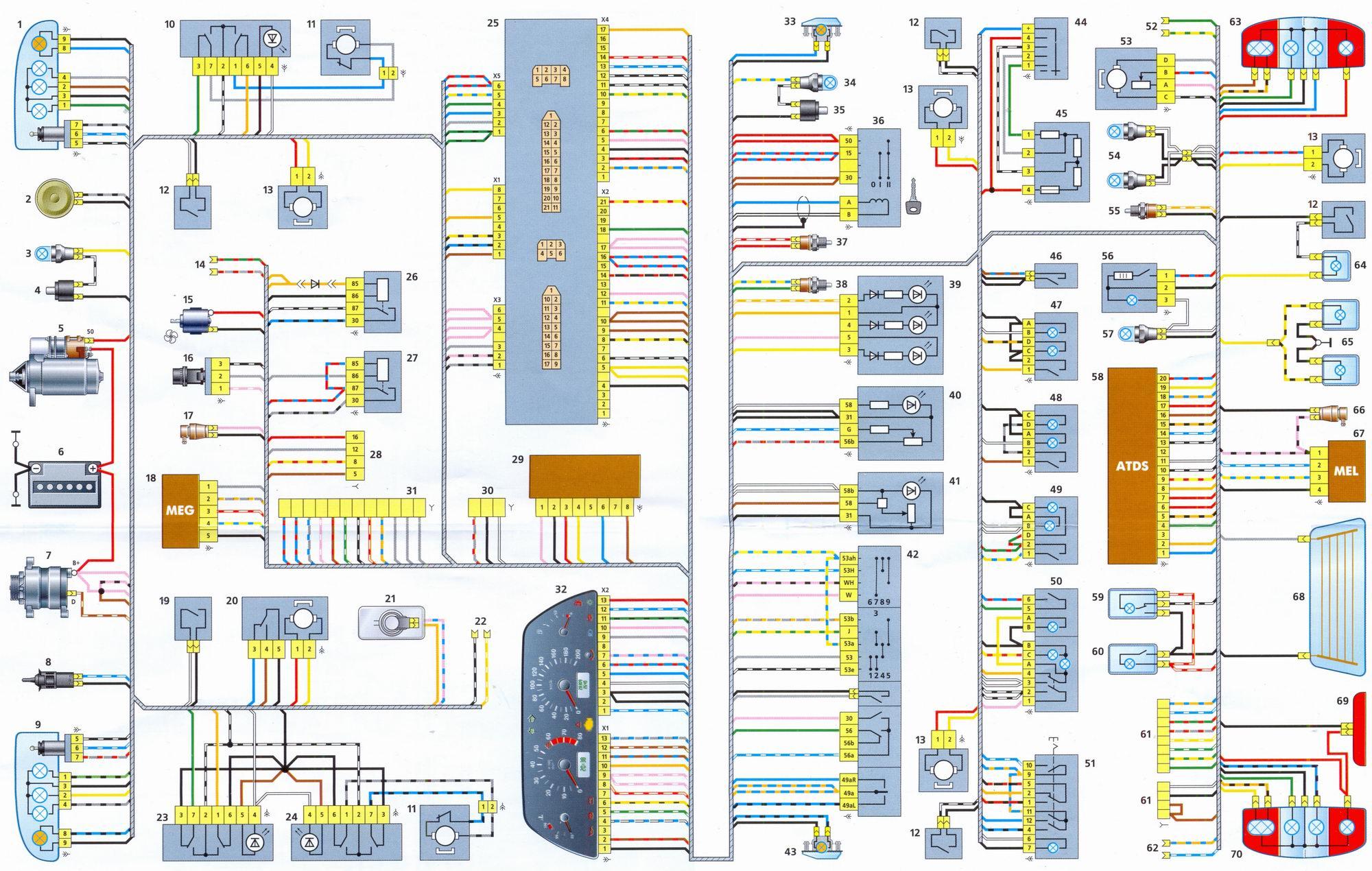 Схема подключения отопителя на нива шевроле