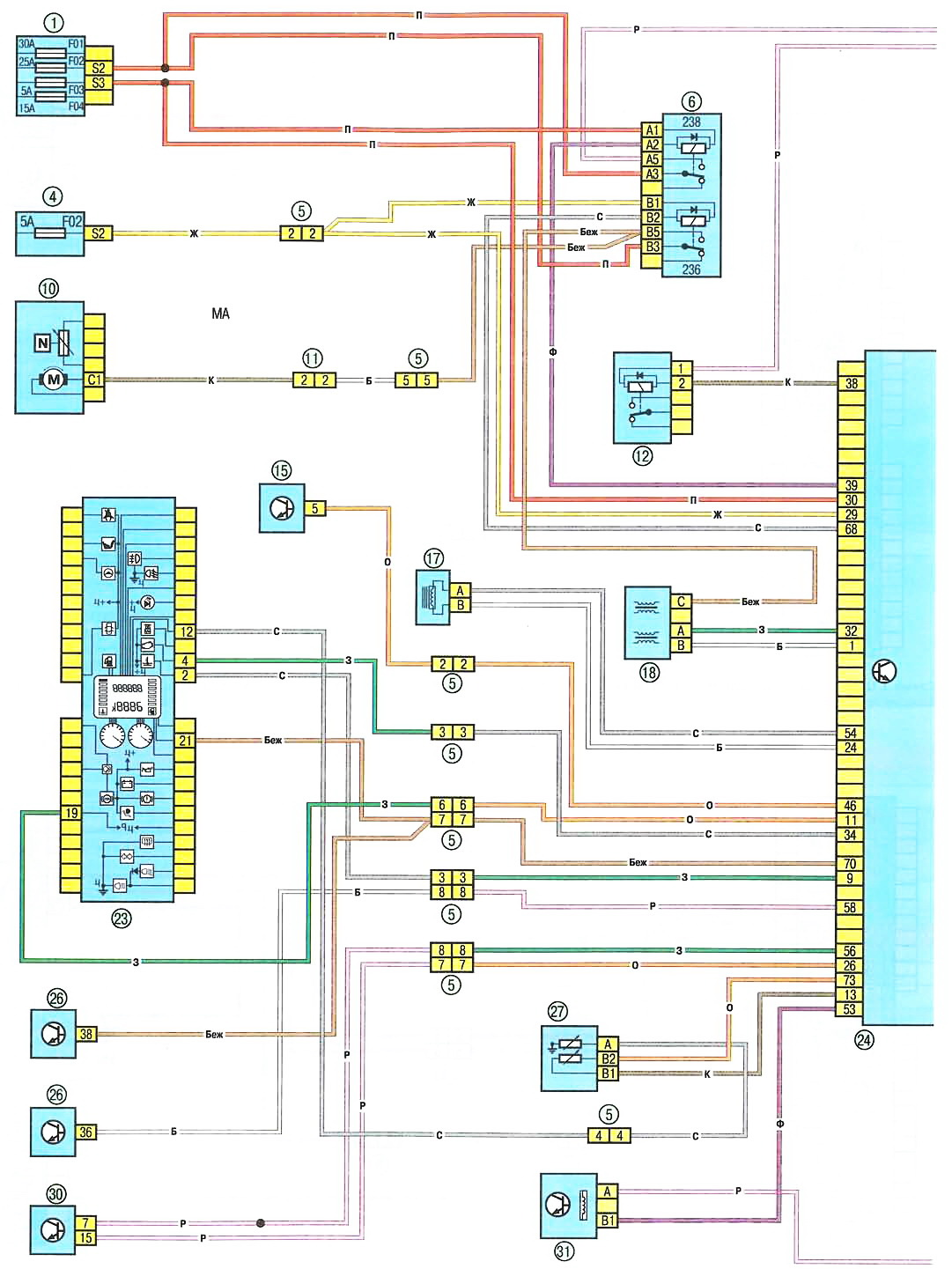 Схема вентиляции рено логан 307