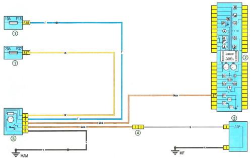 Схема вентиляции рено логан 659